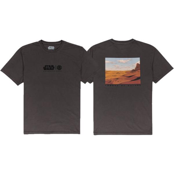 Element Skateboards Star Wars Wind Nine Iron Charcoal Men's Short Sleeve T-Shirt - Large