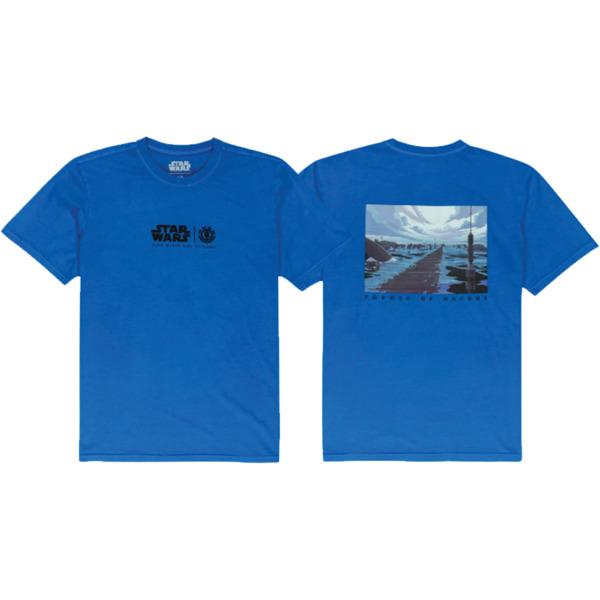 Element Skateboards Star Wars Water Deep Water Blue Men's Short Sleeve T-Shirt - Small