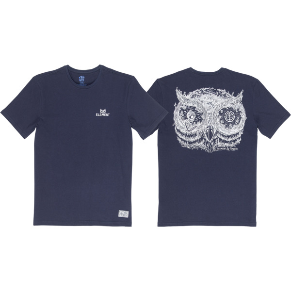 Element Skateboards Too Late in the Owl Men's Short Sleeve T-Shirt
