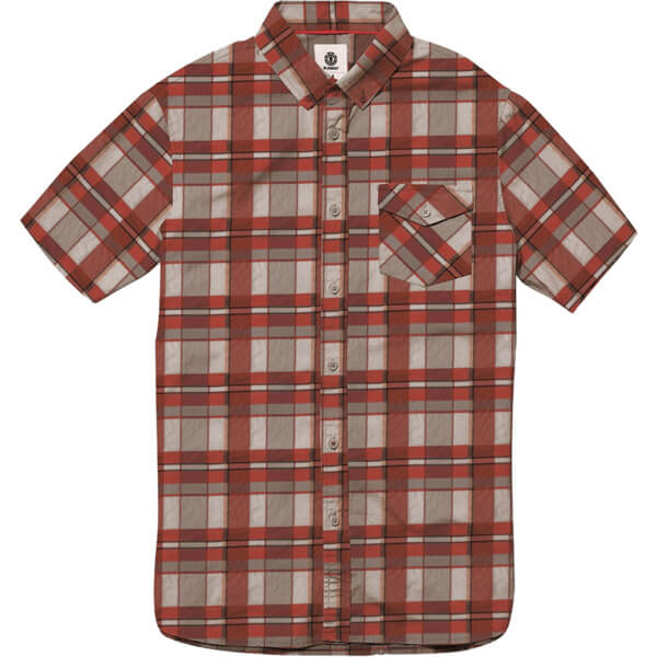 Element Skateboards Aftermath Short Sleeve Button Up