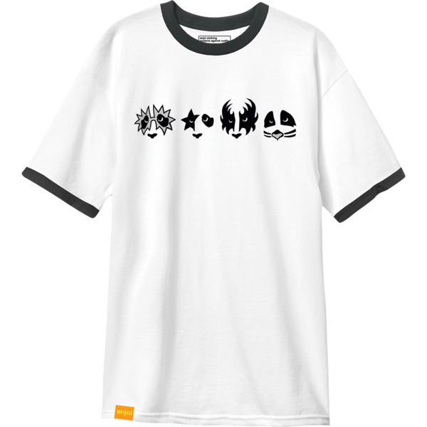 Enjoi Skateboards Kiss Men's Short Sleeve T-Shirt