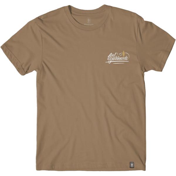 Girl Skateboards Traveler Script Safari Green Men's Short Sleeve T-Shirt - Medium
