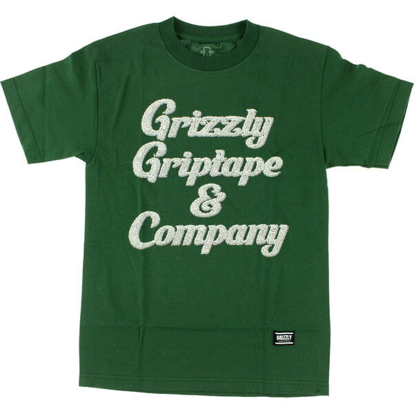 Grizzly Grip Tape Grizzly and Co Hunter Green Men's Short Sleeve T-Shirt - X-Large