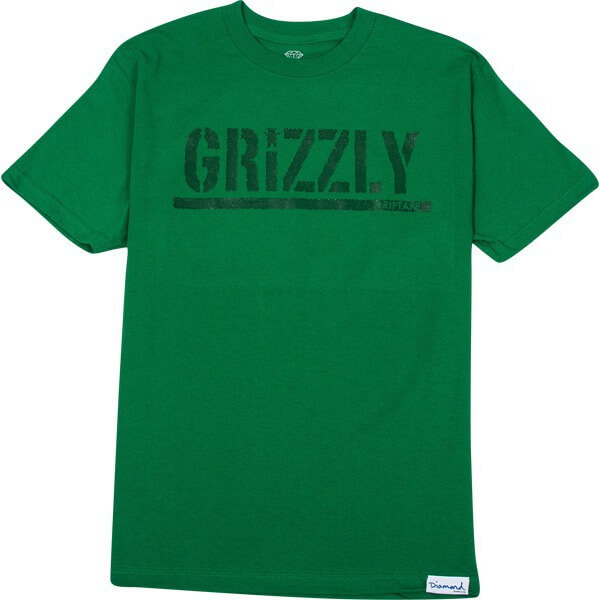 Grizzly Tonal Stamp T-Shirt