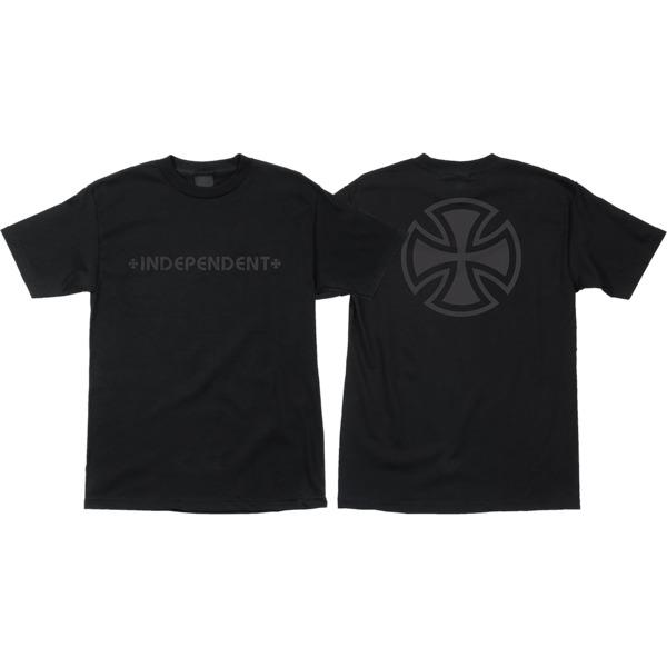 Independent Bar Cross Fade Out Men's Short Sleeve T-Shirt
