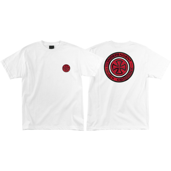 Independent Target White Men's Short Sleeve T-Shirt - Small