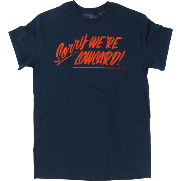 Lowcard Mag Sorry Navy Men's Short Sleeve T-Shirt - X-Large