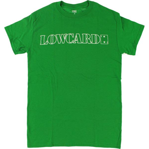 Lowcard Mag Standard Green Men's Short Sleeve T-Shirt - Medium