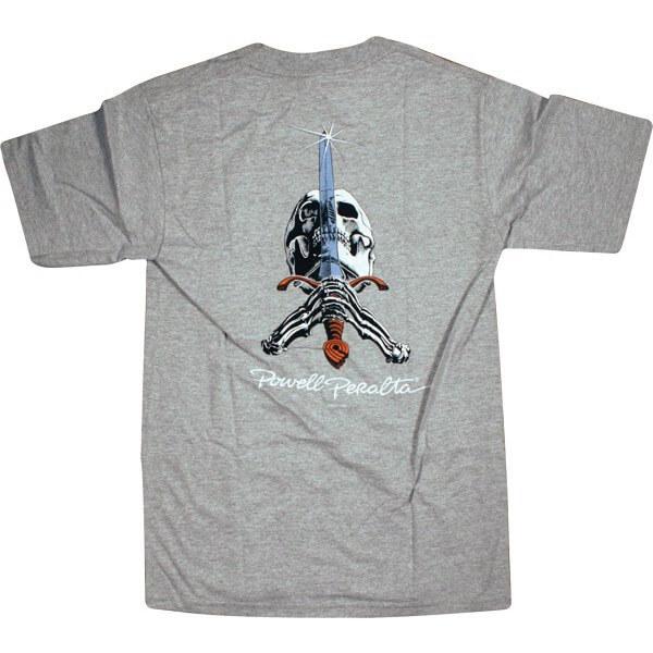Powell Peralta Skull & Sword Men's Short Sleeve T-Shirt