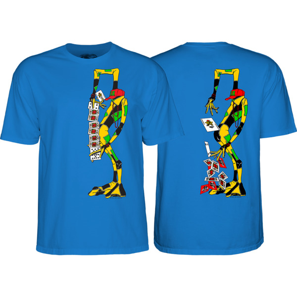 Powell Peralta Ray Barbee Rag Doll Royal Men's Short Sleeve T-Shirt - Medium