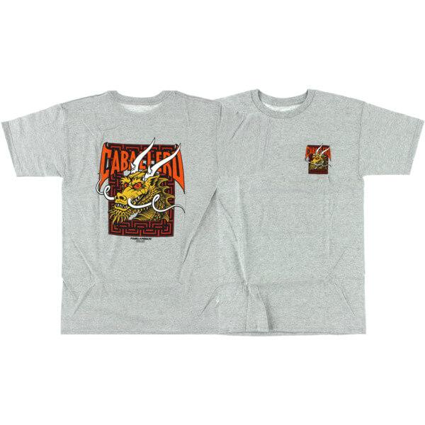 Powell Peralta Steve Caballero Street Dragon Grey Men's Short Sleeve T-Shirt - Small