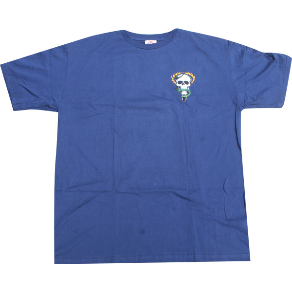 Powell Peralta Mike McGill Skull & Snake Navy Men's Short Sleeve T-Shirt - Small
