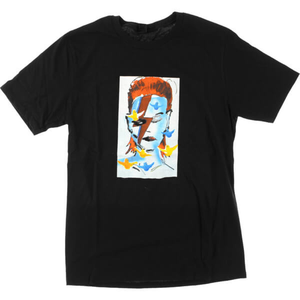 Prime Heritage Gonz Bowie Black Men's Short Sleeve T-Shirt - X-Large