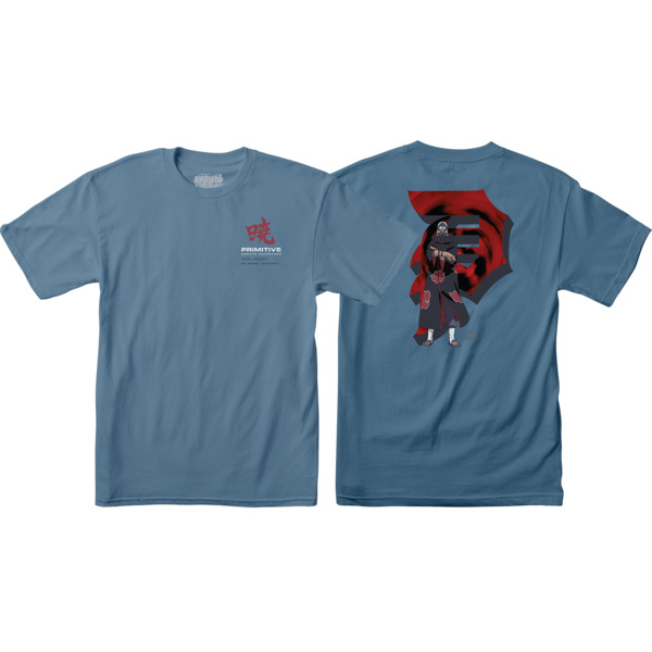 Primitive Skateboarding Kakuzu Slate Blue Men's Short Sleeve T-Shirt - Small