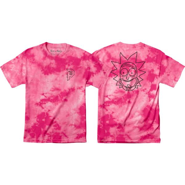 Primitive Skateboarding Rick and Morty Rick Outline Men's Short Sleeve T-Shirt