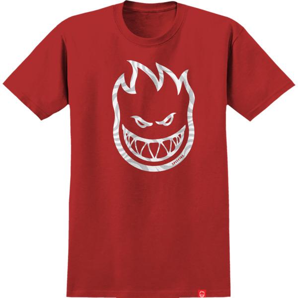 Spitfire Wheels Swirl Fill Red Men's Short Sleeve T-Shirt - X-Large