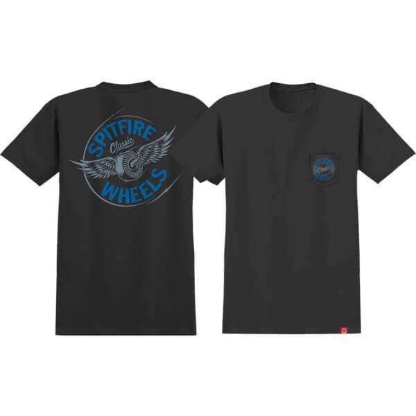 Spitfire Wheels Flying Classic Short Sleeve Pocket T-Shirts