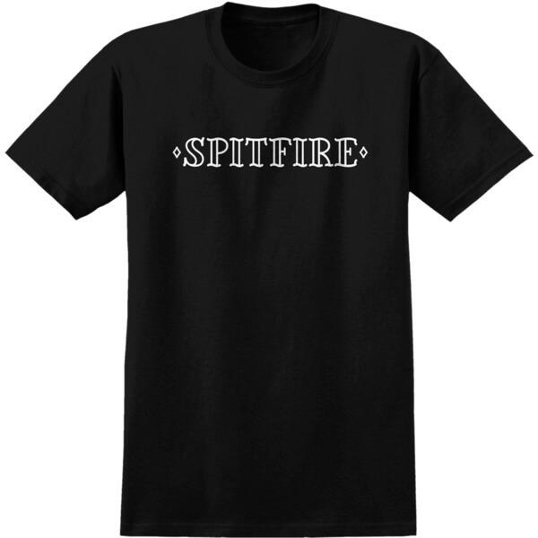 Spitfire Wheels Lifer Black Men's Short Sleeve T-Shirt - Medium