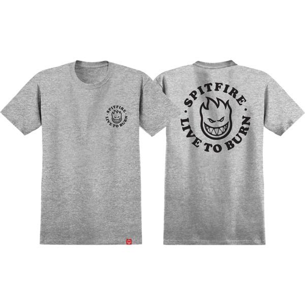 Spitfire Wheels Live to Burn Bighead Men's Short Sleeve T-Shirt