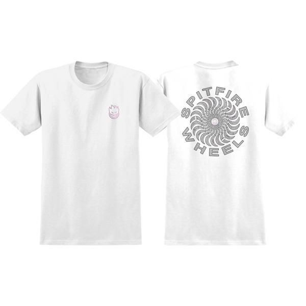 Spitfire Wheels Pool Service White Men's Short Sleeve T-Shirt - Medium