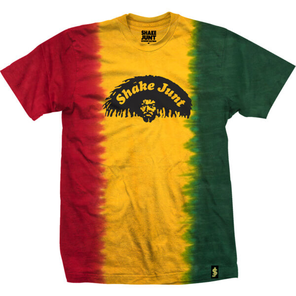 Shake Junt Dreads Rasta Men S Short Sleeve T Shirt Small
