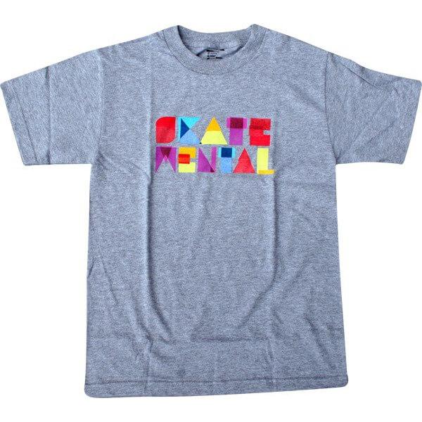 Skate Mental Paper Block T-Shirt