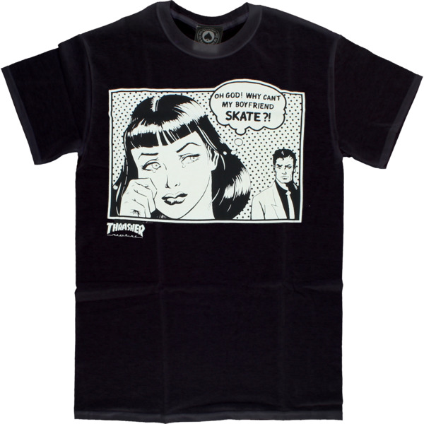 Thrasher Magazine Boyfriend Men's Short Sleeve T-Shirt