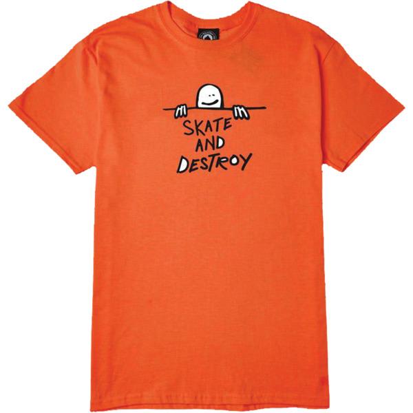 Thrasher Magazine Gonz Sad Orange Men's Short Sleeve T-Shirt - X-Large