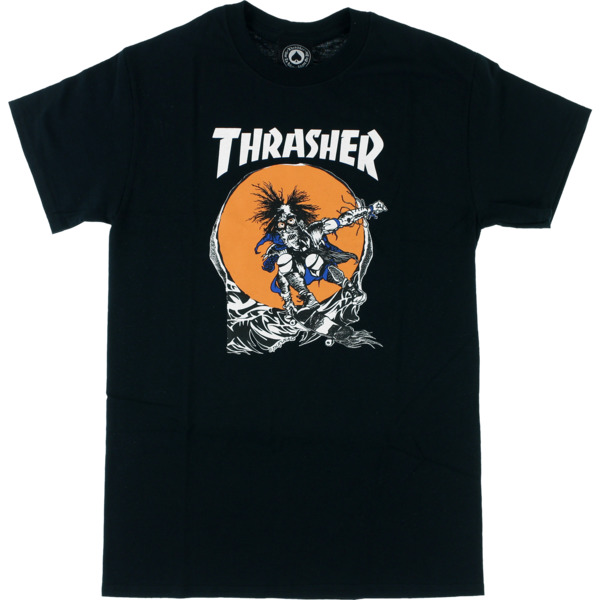 Thrasher Magazine Outlaw Black Men's Short Sleeve T-Shirt - Medium