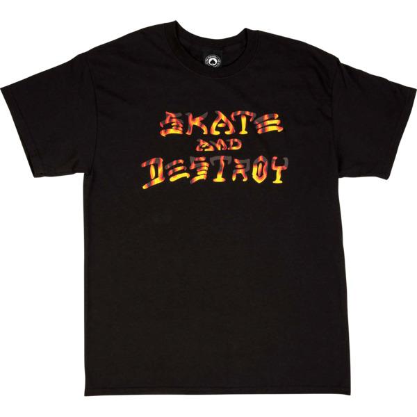 Thrasher Magazine Sad BBQ Black Men's Short Sleeve T-Shirt - Small