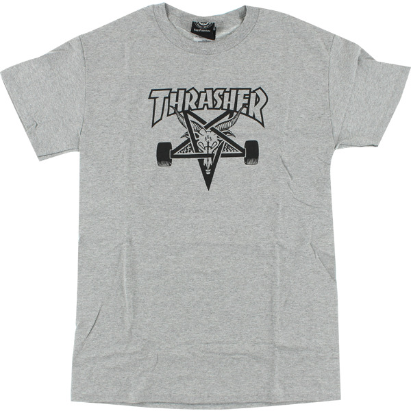 Thrasher Magazine Sk8goat Grey Men's Short Sleeve T-Shirt - Small