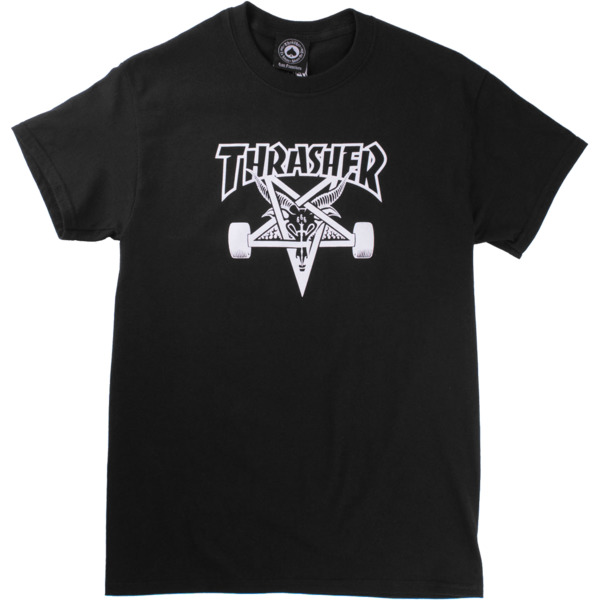 Thrasher Magazine Sk8goat Black Men's Short Sleeve T-Shirt - Large