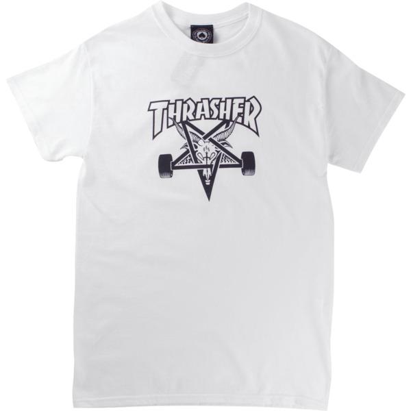 Thrasher Magazine Sk8goat White Men's Short Sleeve T-Shirt - Large