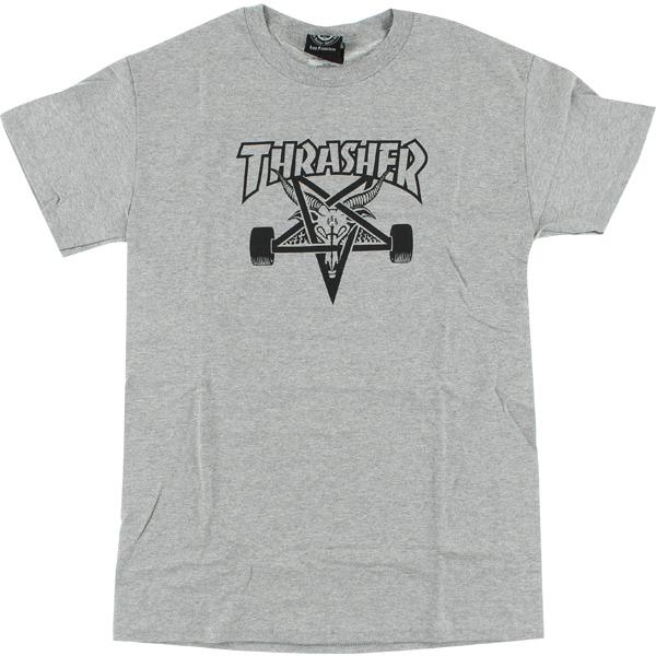 Thrasher Magazine Sk8goat Grey Men's Short Sleeve T-Shirt - Large