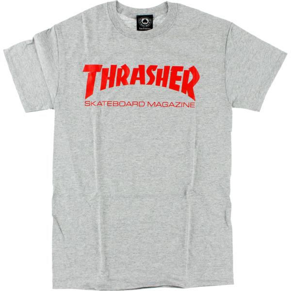 Thrasher Magazine Skate Mag Heather / Red Men's Short Sleeve T-Shirt - Small