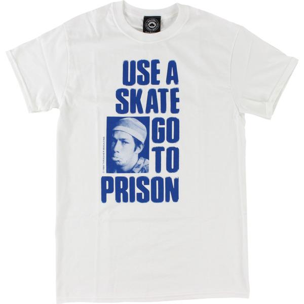 Thrasher Magazine Use a Skate White Men's Short Sleeve T-Shirt - Small