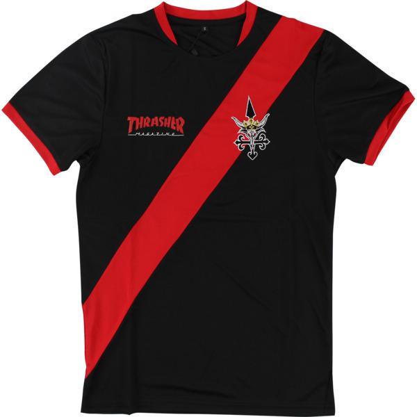 Thrasher Magazine Futbol Jersey Men's Short Sleeve T-Shirt