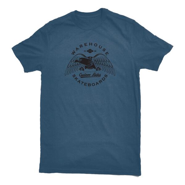 Warehouse Skateboards Eagle Premium Short Sleeve T-Shirt