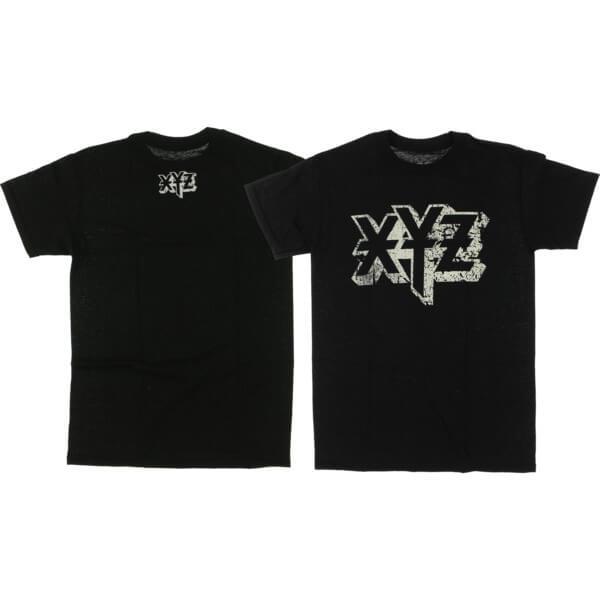 XYZ Clothing Ozzy Black Men's Short Sleeve T-Shirt - Large