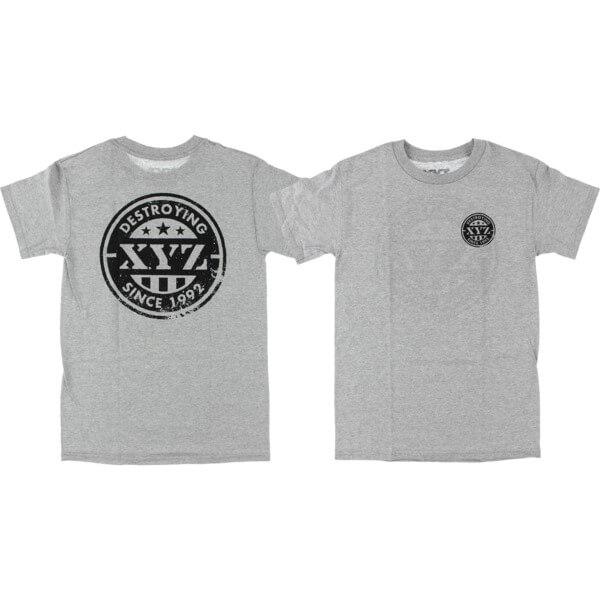 XYZ Clothing Prides Heather Grey Men's Short Sleeve T-Shirt - Medium