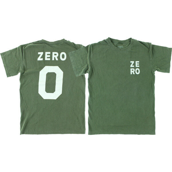 Zero Skateboards Numero Men's Short Sleeve T-Shirt
