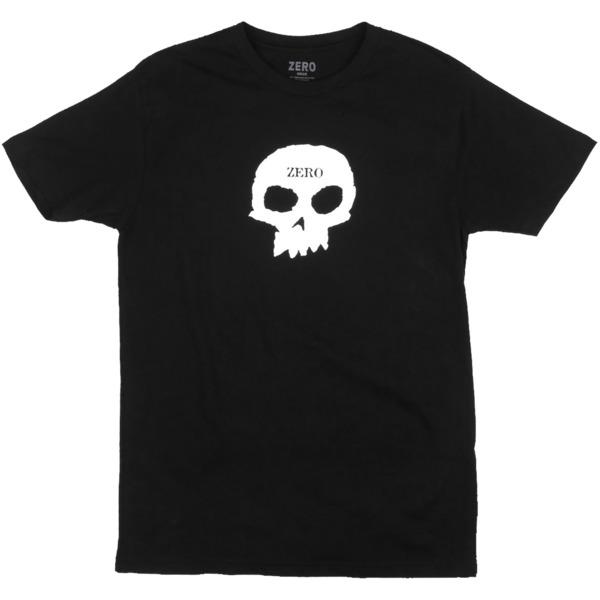 dd988678dc17 Zero Skateboards Skull Black Men's Short Sleeve T-Shirt - Small - Warehouse  Skateboards