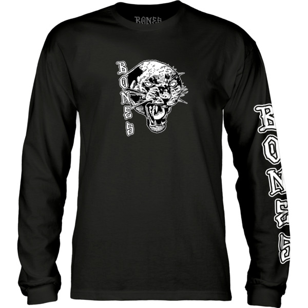 Bones Wheels Night Prowler Men's Long Sleeve T-Shirt