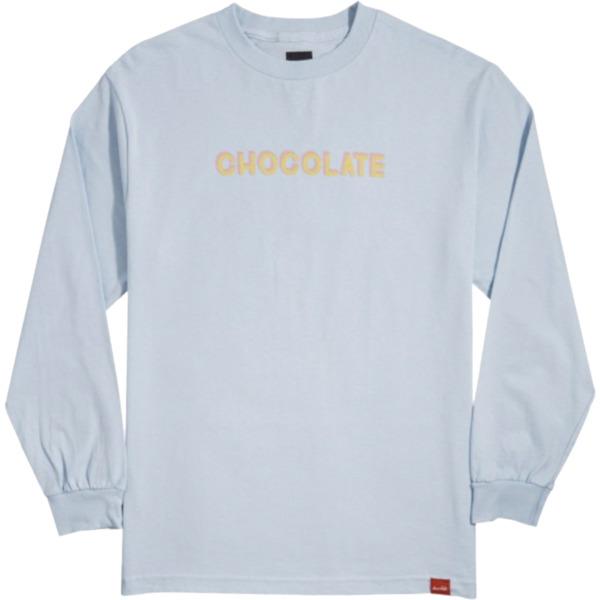 Chocolate Skateboards Bar Powder Blue Men's Long Sleeve T-Shirt - X-Large