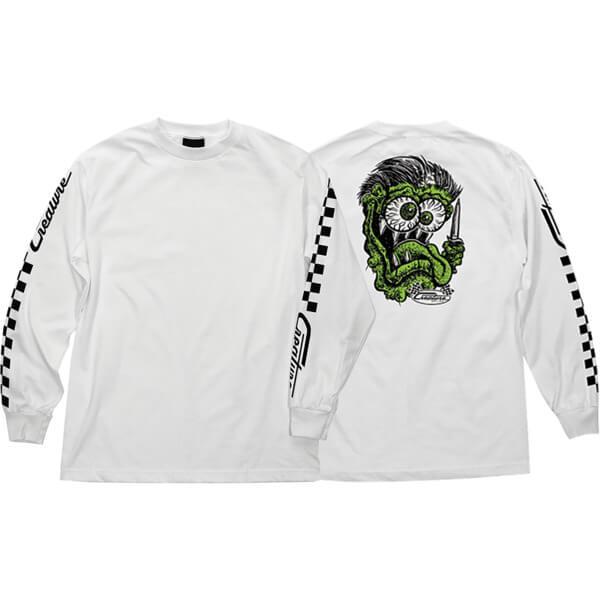 Creature Skateboards Grease Monkey Men's Long Sleeve T-Shirt