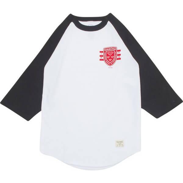 Diamond Int'l Skate Raglan 3/4 Sleeve T-Shirt