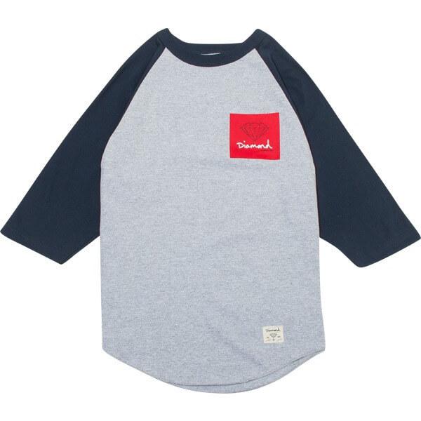 Diamond OG Sign Raglan 3/4 Sleeve T-Shirt