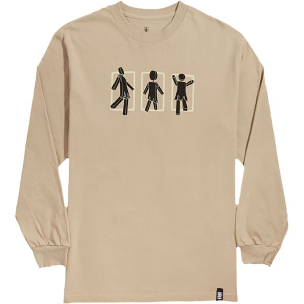 Girl Skateboards Marionette Triple Sand Men's Long Sleeve T-Shirt - Large