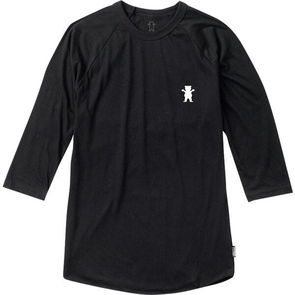 Grizzly Grip Tape Gram Raglan 3/4 Sleeve T-Shirt