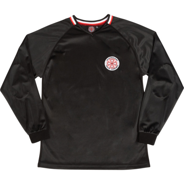 Independent Defender Black Long Sleeve Jersey - Small